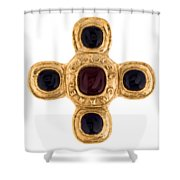 Chanel Jewelry-12 Shower Curtain