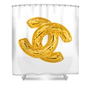 Chanel Jewelry-4 Shower Curtain