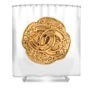 Chanel Jewelry-7 Shower Curtain