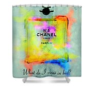 Chanel No.5  Shower Curtain