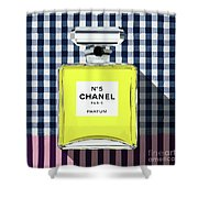Chanel-no.5-pa-kao-ma1 Shower Curtain
