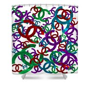 Chanel Sign-1 Shower Curtain