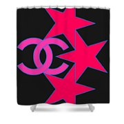 Chanel Stars-9 Shower Curtain