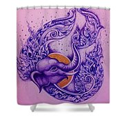 Chang Thai  Shower Curtain