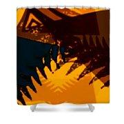 Change - Leaf13 Shower Curtain