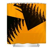 Change - Leaf4 Shower Curtain