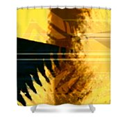 Change - Leaf7 Shower Curtain