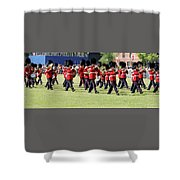 Change Of Guards - Canada Shower Curtain