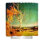 Change Vii Shower Curtain
