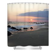 Changing Color Shower Curtain