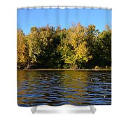 Changing Colors Shower Curtain