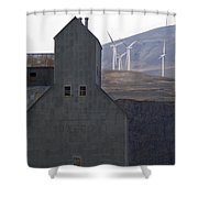 Changing Landscapes Shower Curtain