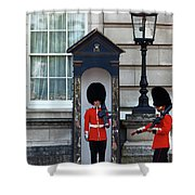Changing Of The Guard 2 Shower Curtain