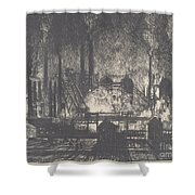 Changing Shifts, Charleroi Shower Curtain