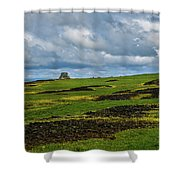 Changing Skies And Landscape Shower Curtain