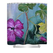 Channel Islands' Island Mallow Shower Curtain