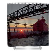 Channel Light, Dawn Shower Curtain
