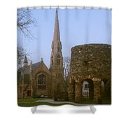 Channing Memorial Church Shower Curtain