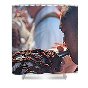 Chant To Valhalla Shower Curtain
