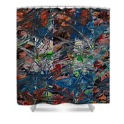 Chaos #2-128 Shower Curtain