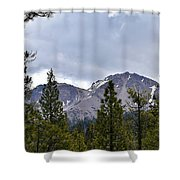 Chaos Crags  Shower Curtain