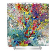 Chaotic Craziness Series 1987.032914 Shower Curtain