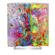 Chaotic Craziness Series 1988.033014 Shower Curtain
