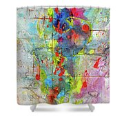 Chaotic Craziness Series 1989.033014 Shower Curtain