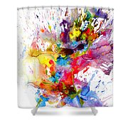 Chaotic Craziness Series 1998.033114 Shower Curtain