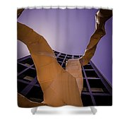 Chaotic Emergence Shower Curtain