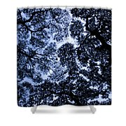 Chaotic Pattern Shower Curtain