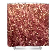 Chaotic Pink Serenity Shower Curtain