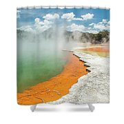 Champagne Pool Shower Curtain