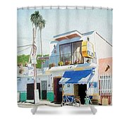 Chapala Store Shower Curtain