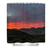 Chaparral Dreams Shower Curtain