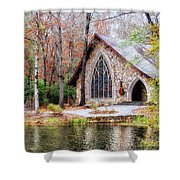 Chapel At Callaway Shower Curtain