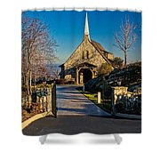 Chapel At Glassy Shower Curtain