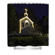 Chapel At Roche Harbor Shower Curtain
