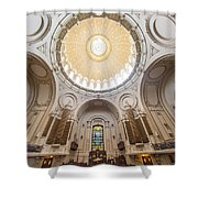 Chapel Dome Interior Shower Curtain