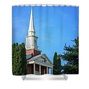 Chapel Hill Golf Course Clubhouse Shower Curtain