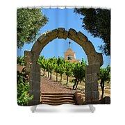 Chapel Hill Vineyard Shower Curtain