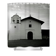 Chapel In The Shadows- Art By Linda Woods Shower Curtain
