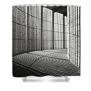 Chapel Of Reconciliation  Shower Curtain by Silva Wischeropp