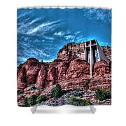 Chapel Of The Rock Shower Curtain