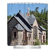 Chapel On A Rock 2 Shower Curtain