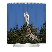 Chapel On A Rock 3 Shower Curtain