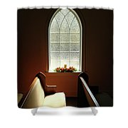 Chapel Window Shower Curtain