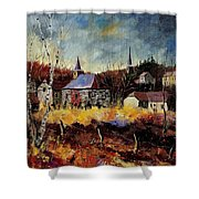 Chapelle D'havenne  Shower Curtain