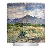 Chapmans Peak Cape Peninsula South Africa Shower Curtain