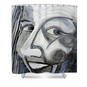 Character Actress 1984 Shower Curtain